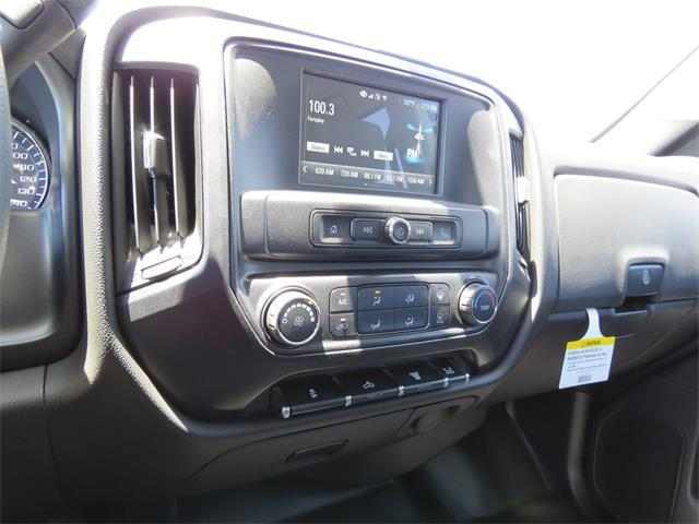 2017 Silverado 3500 Crew Cab DRW 4x4, Harbor Contractor Body #T17559 - photo 10