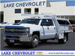 2017 Silverado 3500 Crew Cab DRW 4x4, Harbor Contractor Body #T17559 - photo 1