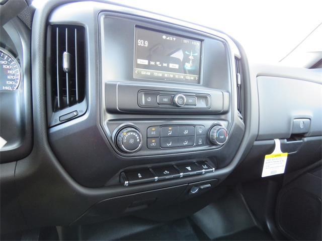 2017 Silverado 3500 Crew Cab DRW 4x4, Harbor Contractor Body #T17667 - photo 10