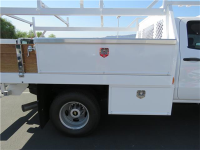 2017 Silverado 3500 Crew Cab DRW 4x4, Harbor Standard Contractor Contractor Body #T17667 - photo 5