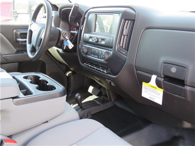 2017 Silverado 3500 Crew Cab DRW 4x4, Harbor Standard Contractor Contractor Body #T17667 - photo 8