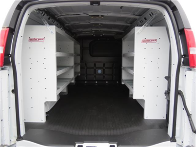 2017 Express 3500,  Weather Guard Upfitted Cargo Van #T17698 - photo 2