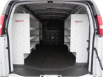 2017 Express 3500,  Weather Guard Upfitted Cargo Van #T17698 - photo 1