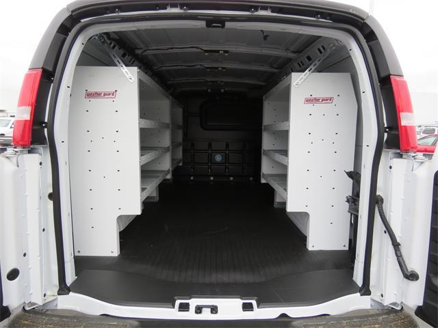 2017 Express 3500,  Weather Guard Upfitted Cargo Van #T17699 - photo 2