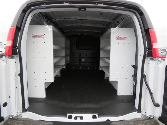 2017 Express 3500,  Weather Guard Upfitted Cargo Van #T17699 - photo 1