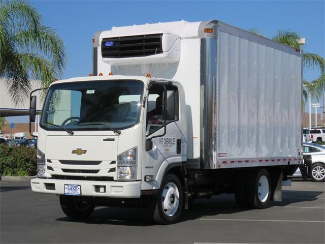 2017 LCF 4500 Regular Cab 4x2,  Morgan Refrigerated Body #T17731 - photo 1