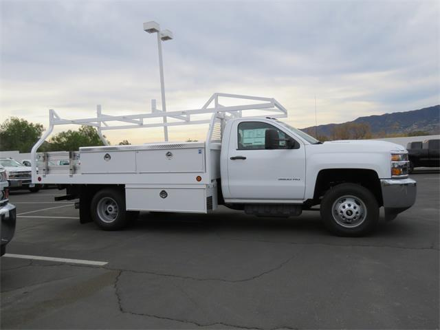 2017 Silverado 3500 Regular Cab DRW, Royal Contractor Body #T17736 - photo 3
