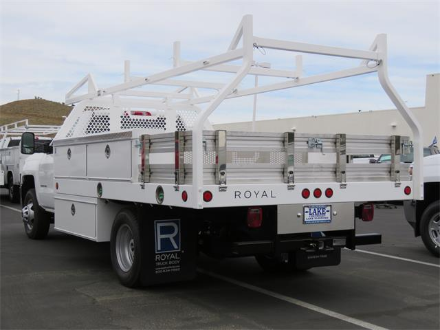 2017 Silverado 3500 Regular Cab DRW, Royal Contractor Bodies Contractor Body #T17736 - photo 2