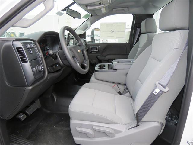 2017 Silverado 3500 Regular Cab DRW, Royal Contractor Body #T17736 - photo 8