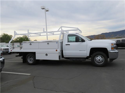 2017 Silverado 3500 Regular Cab DRW 4x2,  Royal Contractor Body #T17736 - photo 3