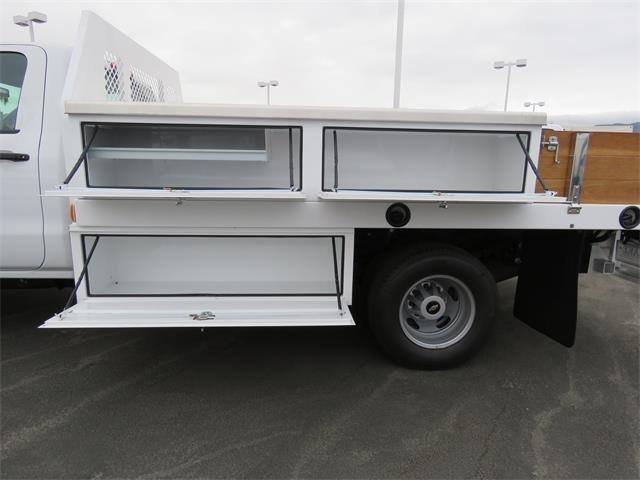 2018 Silverado 3500 Regular Cab DRW 4x2,  Harbor Standard Contractor Body #T18046 - photo 5
