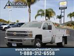 2018 Silverado 3500 Regular Cab DRW 4x2,  Harbor Contractor Body #T18046 - photo 1