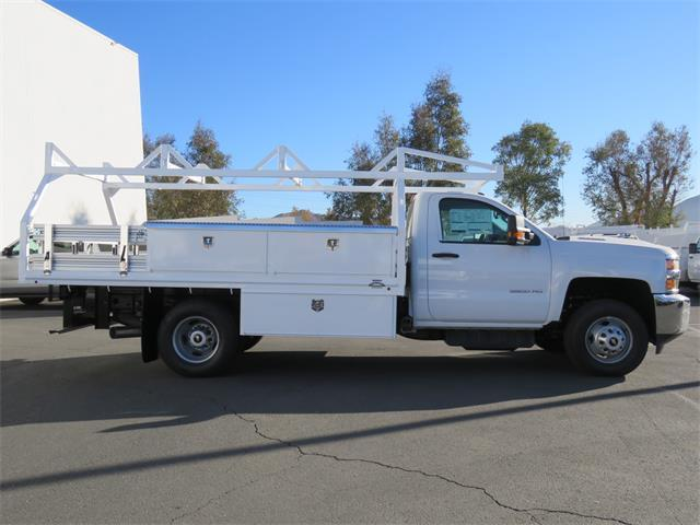 2018 Silverado 3500 Regular Cab DRW, Martin's Quality Truck Body, Inc. Contractor Body #T18063 - photo 3
