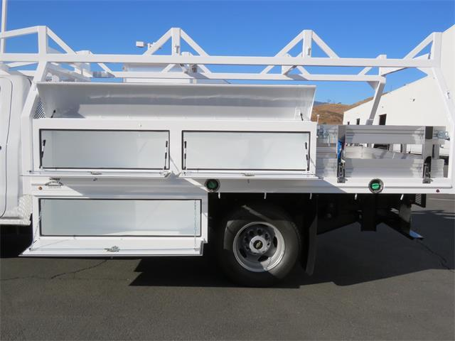 2018 Silverado 3500 Regular Cab DRW, Martin's Quality Truck Body, Inc. Contractor Body #T18063 - photo 4