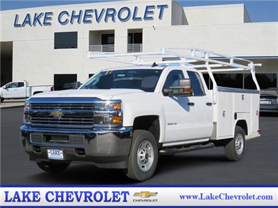 2018 Silverado 2500 Double Cab, Harbor TradeMaster Service Body #T18100 - photo 1