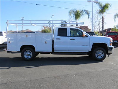 2018 Silverado 2500 Double Cab, Harbor TradeMaster Service Body #T18100 - photo 4