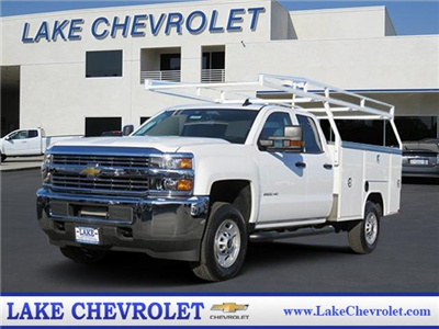 2018 Silverado 2500 Double Cab, Harbor TradeMaster Service Body #T18101 - photo 1