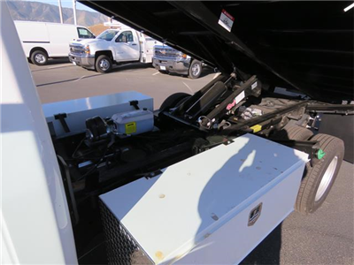 2018 Silverado 3500 Regular Cab DRW 4x2,  Martin's Quality Truck Body Landscape Dump #T18103 - photo 4