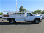 2018 Silverado 3500 Regular Cab DRW, Harbor Standard Contractor Contractor Body #T18190 - photo 3
