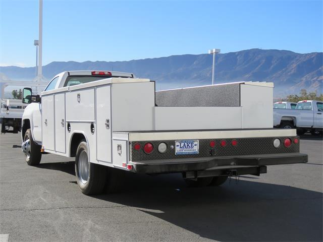 2018 Silverado 3500 Regular Cab DRW, Harbor Service Body #T18208 - photo 2
