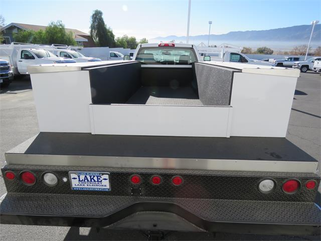 2018 Silverado 3500 Regular Cab DRW, Harbor Service Body #T18208 - photo 6
