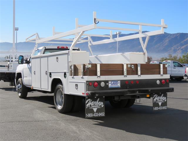 2018 Silverado 3500 Regular Cab DRW, Harbor Combo Body #T18209 - photo 2
