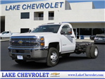2018 Silverado 3500 Regular Cab DRW, Cab Chassis #T18286 - photo 1