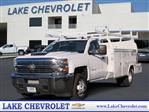 2018 Silverado 3500 Regular Cab DRW 4x4,  Royal Service Combo Body #T18405 - photo 1