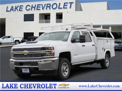 2018 Silverado 3500 Crew Cab,  Service Body #T18449 - photo 1