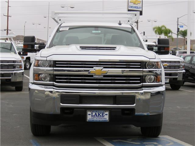 2018 Silverado 3500 Crew Cab,  Service Body #T18449 - photo 3