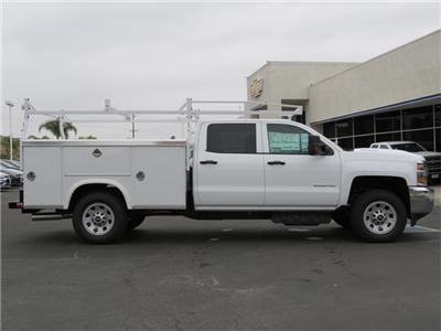 2018 Silverado 3500 Crew Cab,  Service Body #T18449 - photo 4