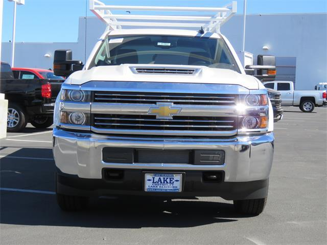 2018 Silverado 3500 Crew Cab DRW 4x4,  Harbor Service Body #T18481 - photo 3
