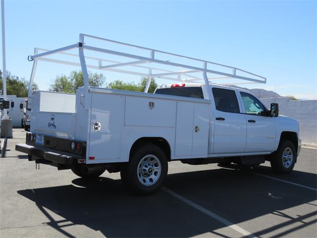 2018 Silverado 3500 Crew Cab DRW 4x4,  Harbor Service Body #T18481 - photo 2