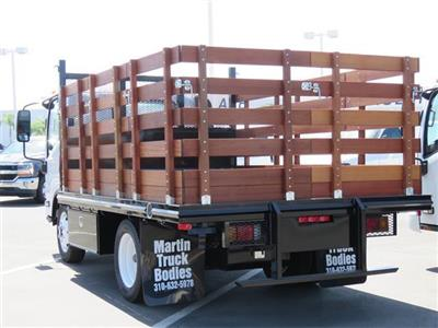 2018 LCF 4500 Regular Cab,  Martin's Quality Truck Body Stake Bed #T18494 - photo 2