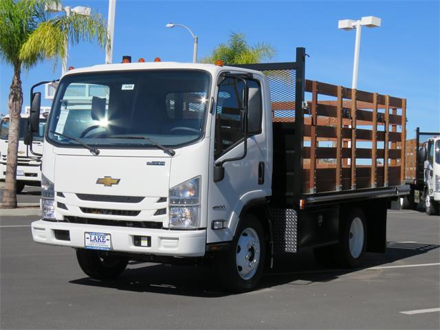 2018 LCF 4500 Regular Cab,  Martin's Quality Truck Body Stake Bed #T18495 - photo 12