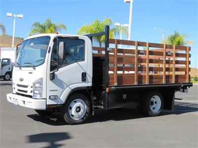 2018 LCF 4500 Regular Cab,  Martin's Quality Truck Body Stake Bed #T18495 - photo 3