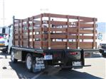 2018 LCF 4500 Regular Cab,  Martin's Quality Truck Body Stake Bed #T18495 - photo 2