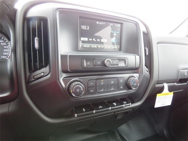 2018 Silverado 3500 Crew Cab DRW 4x2,  Harbor Standard Contractor Body #T18499 - photo 10
