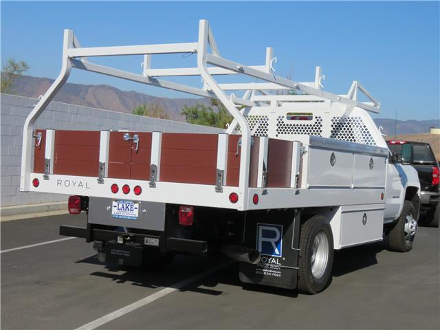 2018 Silverado 3500 Regular Cab DRW 4x2,  Royal Contractor Body #T18525 - photo 2