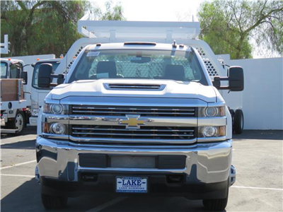 2018 Silverado 3500 Regular Cab DRW 4x2,  Royal Contractor Body #T18525 - photo 3