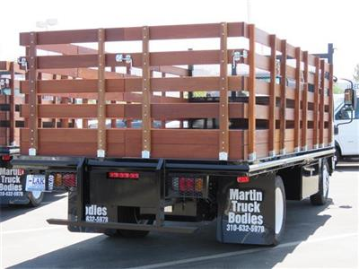 2018 LCF 4500 Regular Cab,  Martin's Quality Truck Body Stake Bed #T18547 - photo 2