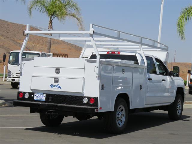 2018 Silverado 3500 Crew Cab DRW 4x2,  Harbor TradeMaster Service Body #T18561 - photo 2