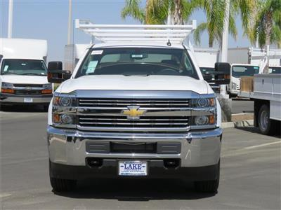 2018 Silverado 3500 Crew Cab DRW 4x2,  Harbor TradeMaster Service Body #T18561 - photo 3