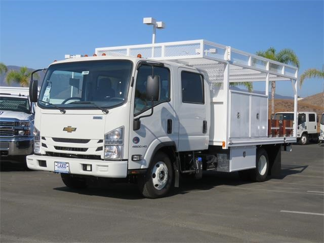 2019 LCF 4500HD Crew Cab 4x2,  Martin Contractor Body #T19000 - photo 1