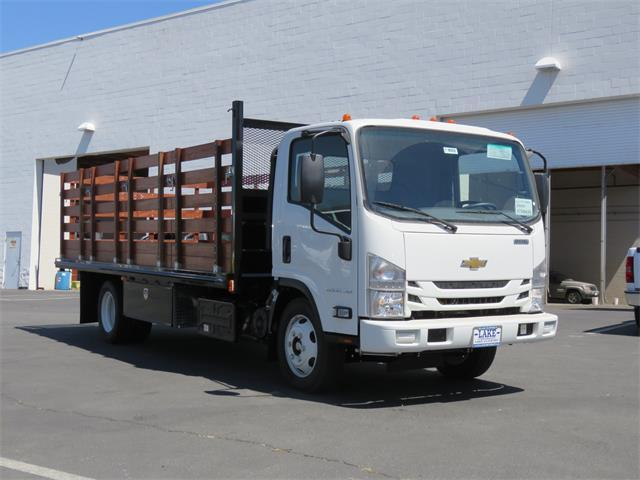 2019 LCF 5500XD Regular Cab,  Martin's Quality Truck Body Stake Bed #T19002 - photo 3