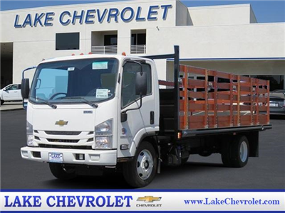 2019 LCF 5500XD Regular Cab,  Martin's Quality Truck Body Stake Bed #T19002 - photo 1