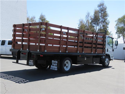 2019 LCF 5500XD Regular Cab,  Martin's Quality Truck Body Stake Bed #T19002 - photo 2