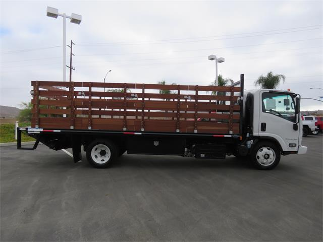 2019 LCF 5500XD Regular Cab,  Martin's Quality Truck Body Stake Bed #T19003 - photo 3