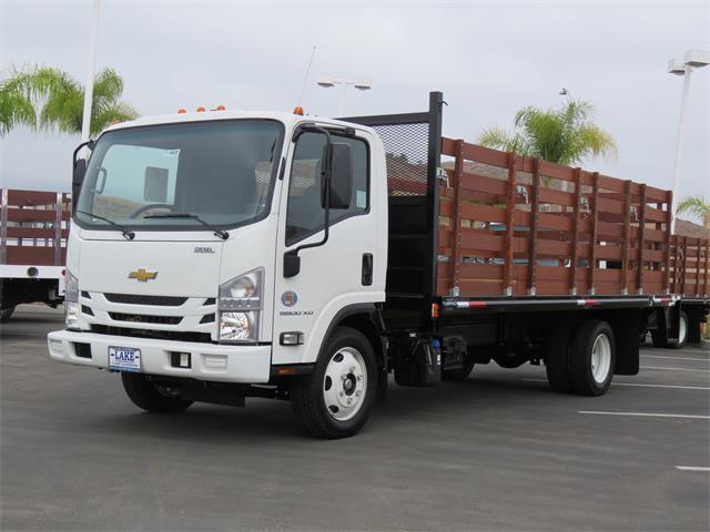 2019 LCF 5500XD Regular Cab,  Martin's Quality Truck Body Stake Bed #T19003 - photo 12