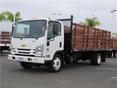 2019 LCF 5500XD Regular Cab,  Martin's Quality Truck Body, Inc. Stake Bed #T19003 - photo 12